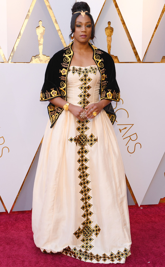 Tiffany Haddish, 2018 Oscars, Red Carpet Fashions